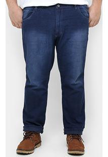 Calça Preston Lavada Plus Size - Masculino