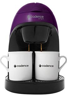 Cafeteira Cadence Single Colors Roxa - 127V