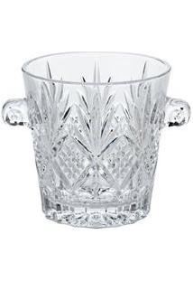 Balde Para Gelo Lyor Classic Dublin Em Cristal Transparente - 2,1 L