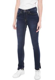 2ad38339f ... Calça Jeans Calvin Klein Jeans Slim Estonada Azul