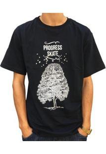 Camiseta Pgs Ecology Masculina - Masculino-Preto