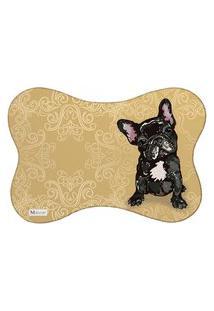 Tapete Pet Mdecore Bulldog Dourado 46X33Cm