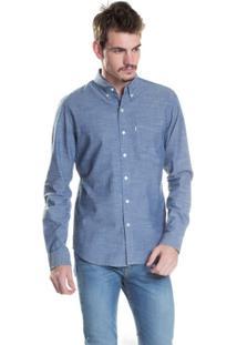 Camisa Levis Classic One Pocket - Masculino-Azul