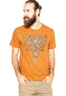 Camiseta Cavalera Encanamento Caramelo