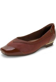 Sapato Feminino Piccadilly - 147137 Castanho 34