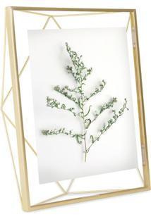 Porta-Retrato Prisma 20X25 Cm Dourado