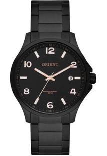 Relógio Orient Casual Black Feminino - Feminino-Preto