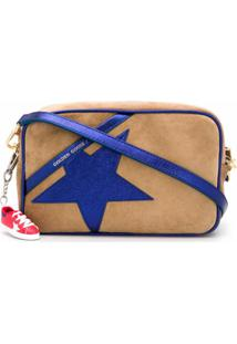 Golden Goose Bolsa Transversal Com Patch De Logo - Marrom