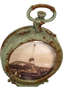 Porta-Retrato De Metal Decorativo De Parede Paris