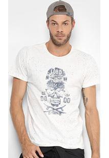 Camiseta Mood Lord Masculina - Masculino-Off White