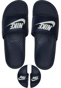 Chinelo Slide Nike Sportswear Benassi Azul