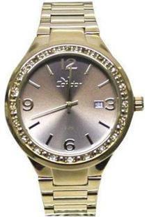 Relógio Condor Co2115Up/4F Feminino - Feminino-Dourado