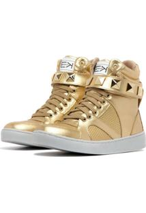 Sneaker K3 Fitness Single Dourado