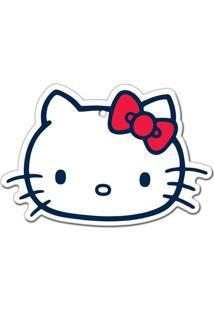 Descanso De Panela Em Cerâmica Branco Hello Kitty Urban