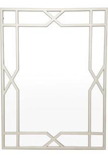 Espelho Retangular Para Pendurar- Espelhado & Prateado
