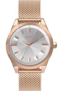 Relógio Euro Eu2035Ysc/4B 42Mm Aço Feminino - Feminino-Rosê