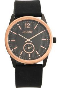 Relógio Euro Feminino Soul Preto Analógico Eu1L45Abk8P - Feminino