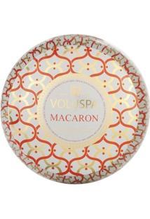 Vela Lata 2 Pavios 50H Macaron - Unissex