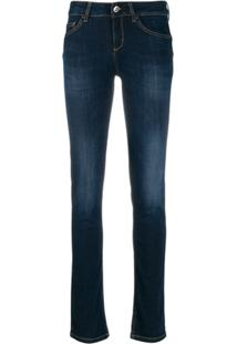 Liu Jo Low Rise Skinny Jeans - Azul