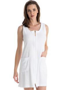 Robe Borboleta Branco/G