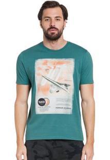 Camiseta Manga Curta Hangar 33 Verde