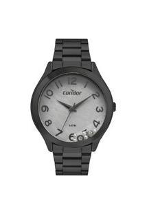 Relógio Condor Feminino Classic Preto Analógico Covj21Mrn4C