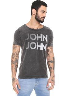 Camiseta John John Rg Fading Grafite