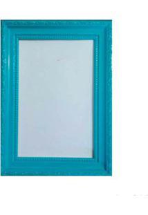 Porta Retrato 15X21Cm Queem Azul Turquesa Brilhante Infinity