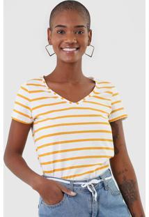 Camiseta Malwee Listrada Off-White