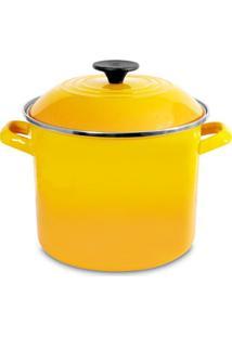 Caldeirão Stock Pot 7,3 Litros Amarelo Dijon Le Creuset