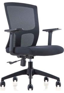 Cadeira Diretor Mko-023-Marka Móveis - Preto
