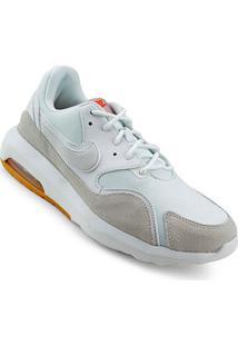 Tênis Nike Wmns Air Max Nostalgic - Feminino-Branco+Cinza