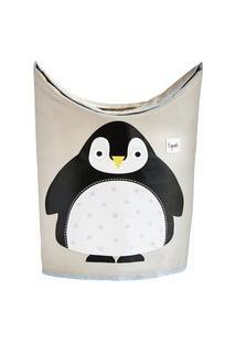 Cesto De Roupa 3 Sprouts Pinguim