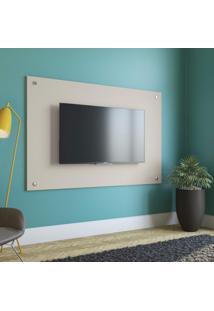 Painel Com Botões Para Tv Até 60 Polegadas 90Cmx136Cm Kappesberg Premium Linho Titânio