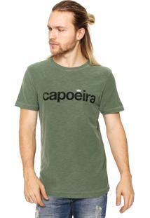 Camiseta Osklen Capoeira Verde