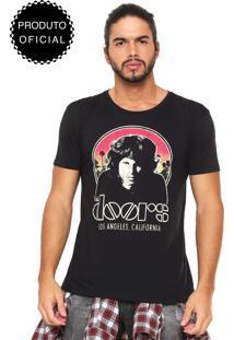 Camiseta Bandup! The Doors Preta