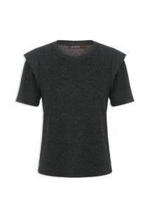 Camiseta Feminina Alba - Preto