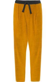 Calça Masculina Eco Fuzz Spot - Amarelo