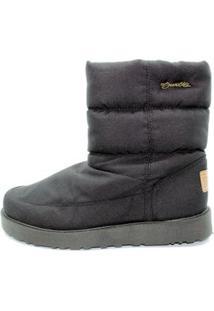 Bota Barth Shoes Snowflake Feminina - Feminino-Preto