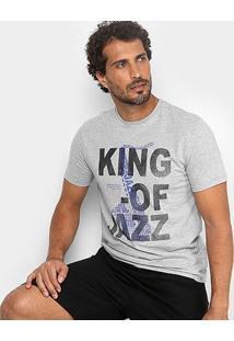 Camiseta Burn Traditional Jazz Masculina - Masculino
