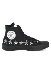 Tênis Converse Chuck Taylor All Star Hi Estrela Preto/Branco Ct14770001.40