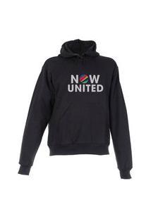 Blusa De Frio Moletom Now United Plus Size Preta