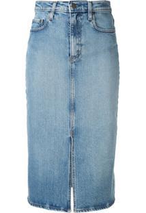 Nobody Denim Saia Jeans Lexi - Azul