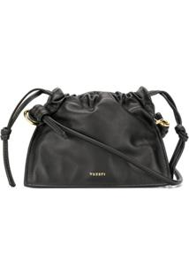 Yuzefi Drawstring Top Shoulder Bag - Preto