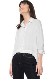 Camisa Cantão Ampla Off-White