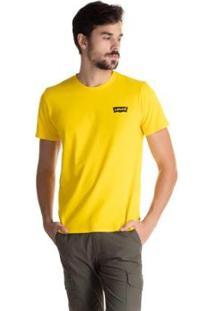 Camiseta Levis Set In Neck 2 Masculina - Masculino-Amarelo