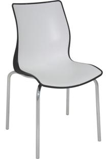 Cadeira De Jantar Maja Preta E Branca