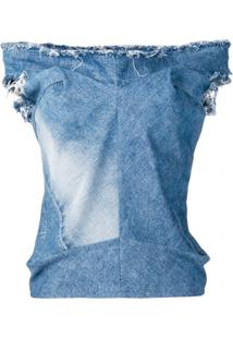 Junya Watanabe Blusa Jeans - Azul