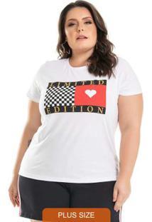T-Shirt Limited Edition Branco