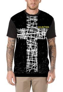 Camiseta Hunter Cruz Preta